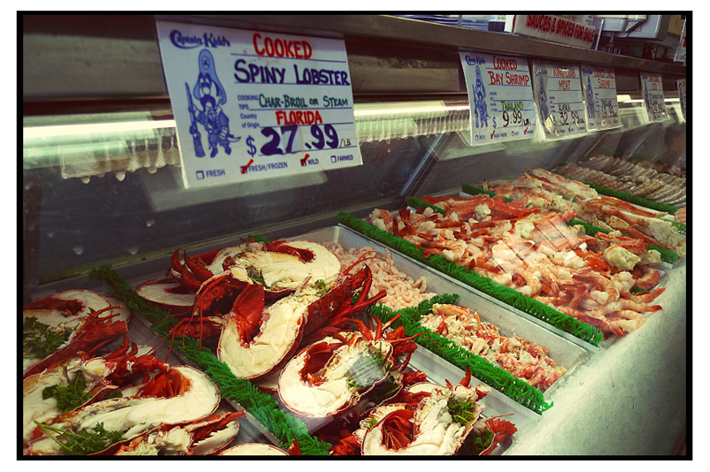 Captain kidd s fish market aaron lam life through the for Redondo beach fish market